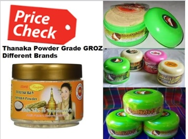Thanaka Grade Groz Powder For Upper Lip Hair Removal Permanently